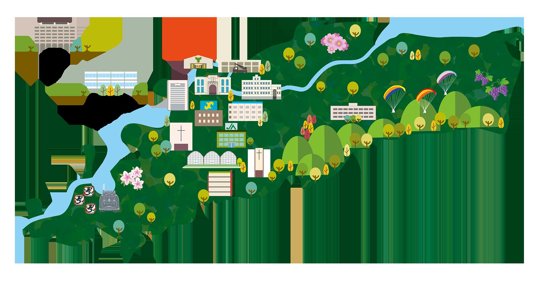 久留米市地図